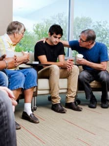 The support of close friends and family will play a crucial part in staging an intervention.