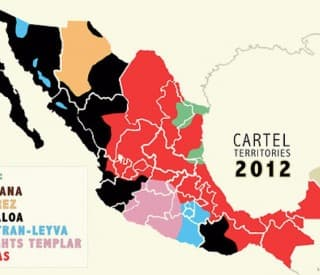 Mexico Drugs Cartels 2012