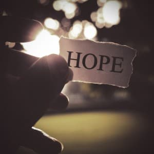 Hope on paper