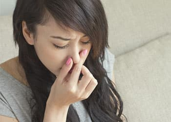 Nasal pain from snorting Xanax