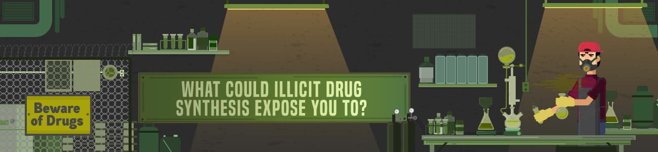 What Could Illicit Drug Synthesis Expose You To?
