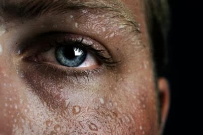 Dilated pupils (mydriasis) and sweating (hidrosis) are among the more common symptoms of some drug abuse.