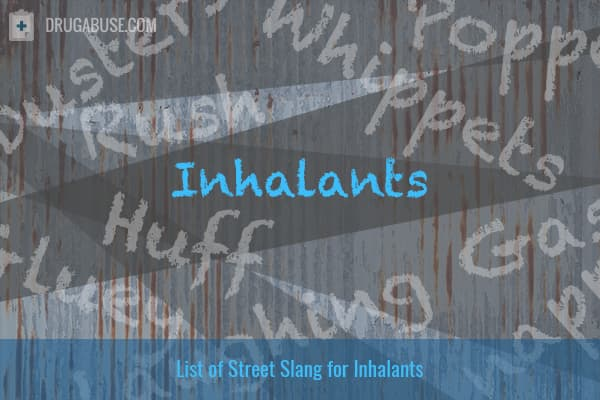 street terms for inhalants