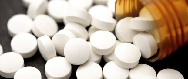 prescription opiates on table